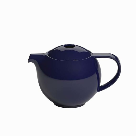 Pro Tea 600ml Teapot with Stainless Steel Infuser by Loveramics in Denim